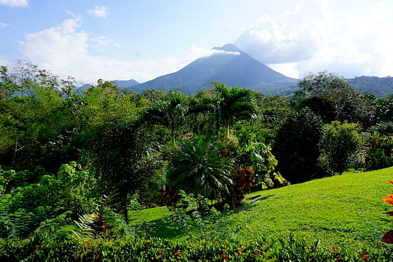 Arenal Volcano view image