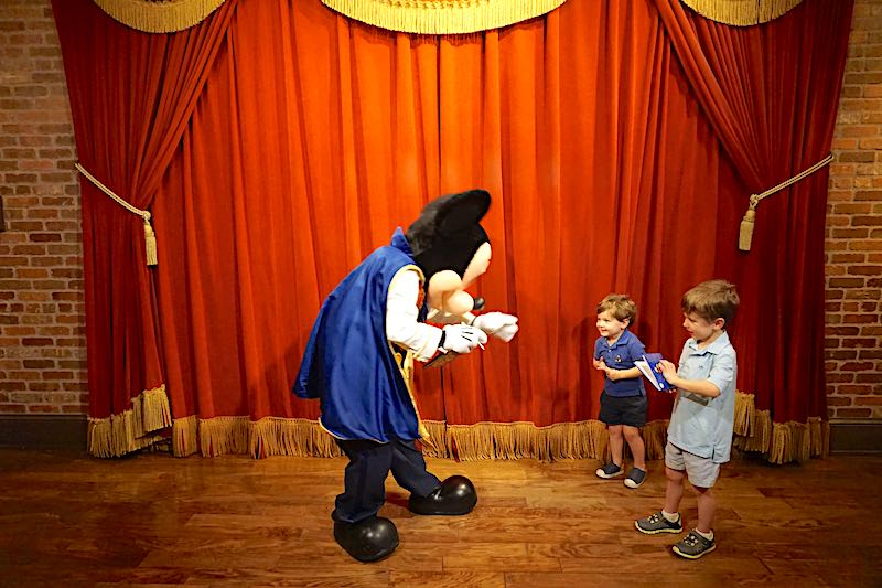 Meet Mickey Mouse Magic Kingdom image