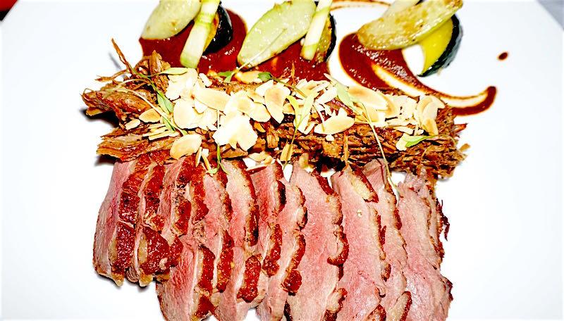 Belmond Maroma La Restaurante duck entree image