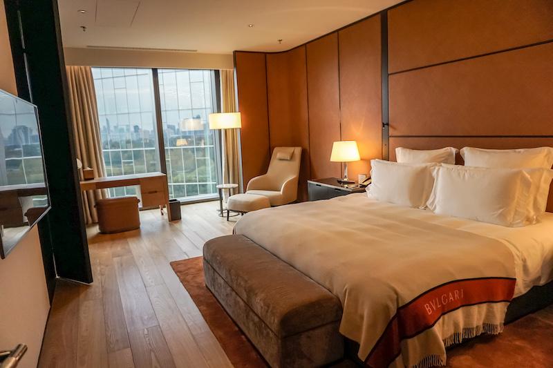 Bulgari Hotel Beijing Deluxe Suite bedroom image