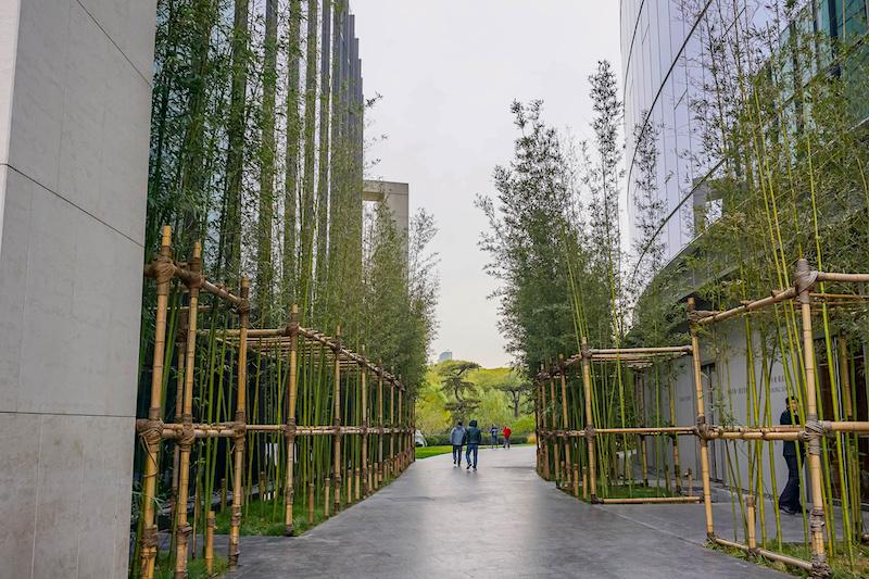 Bulgari Hotel Beijing gardens image