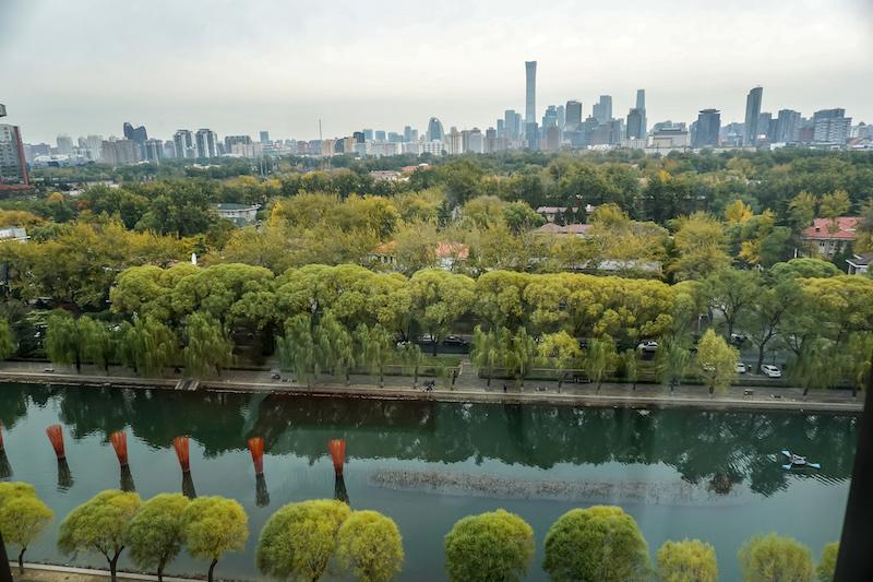 Bulgari Hotel Beijing guest room view image
