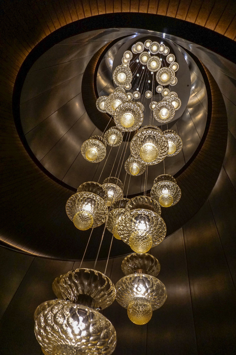 Bulgari Hotel Beijing Murano lighting image