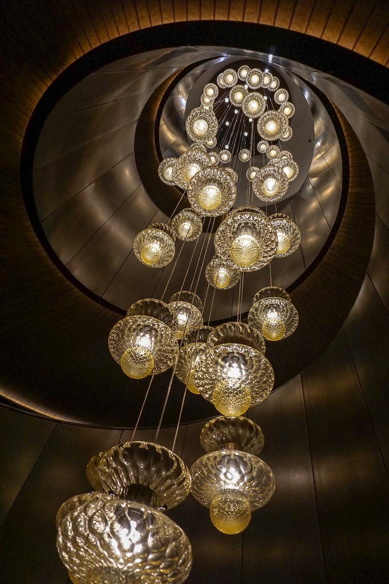Bulgari Hotel Beijing Murano lighting image