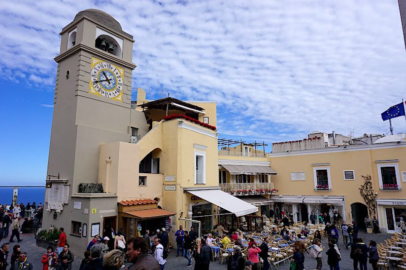 Capri Town Piazzetta image