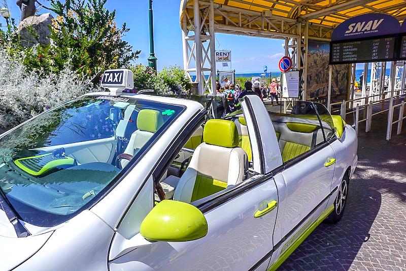 Capri taxi image