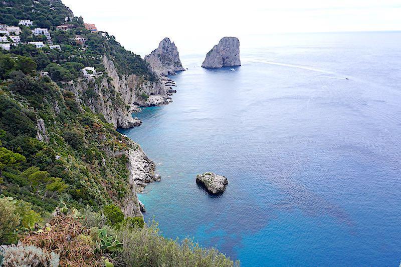 Capri Faraglioni sea rocks image