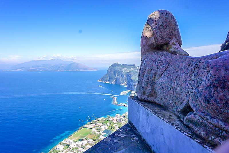 Anacapri Villa San Michele Sphinx image