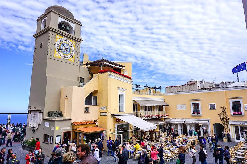 Capri town image