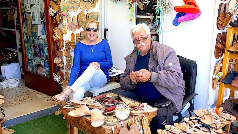Anacapri Antonio Viva's sandal shop image