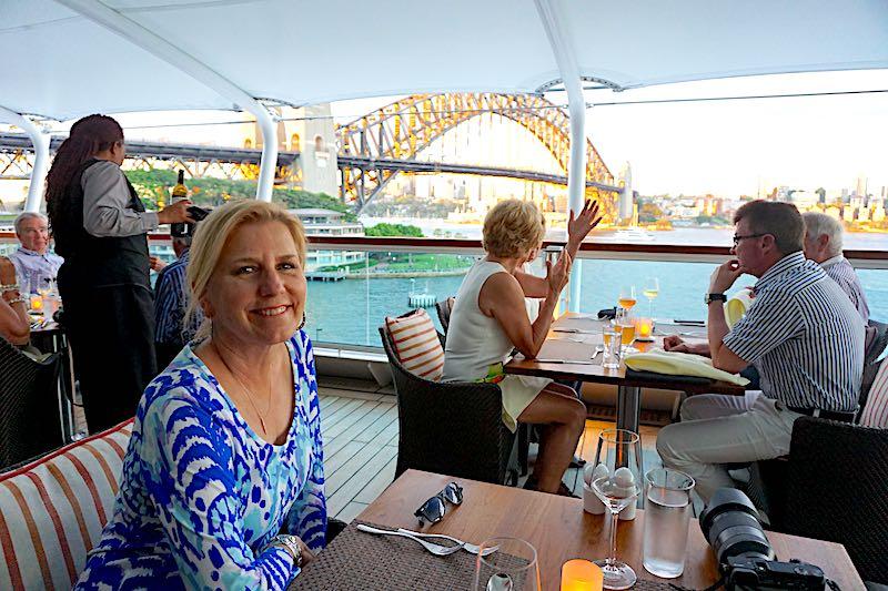 Cara Goldsbury Seabourn Encore Sydney Harbour Bridge image