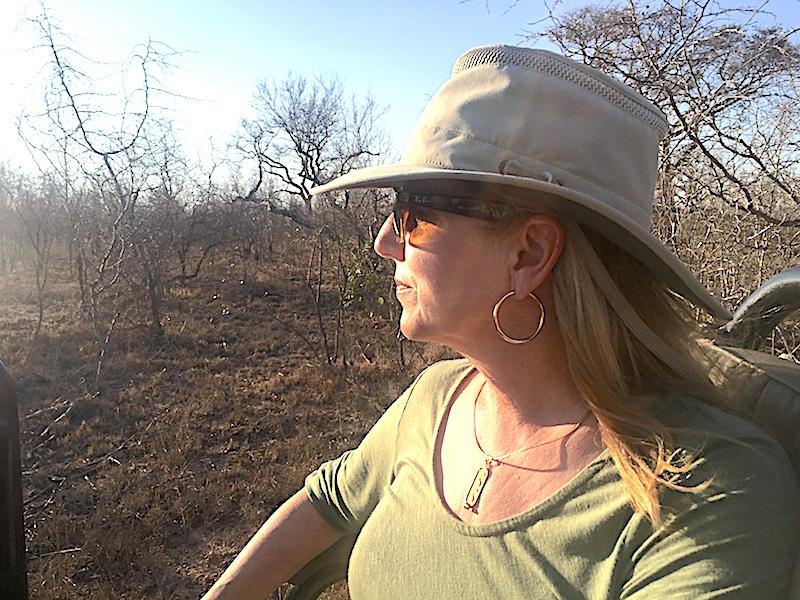 African Safari sun hat image