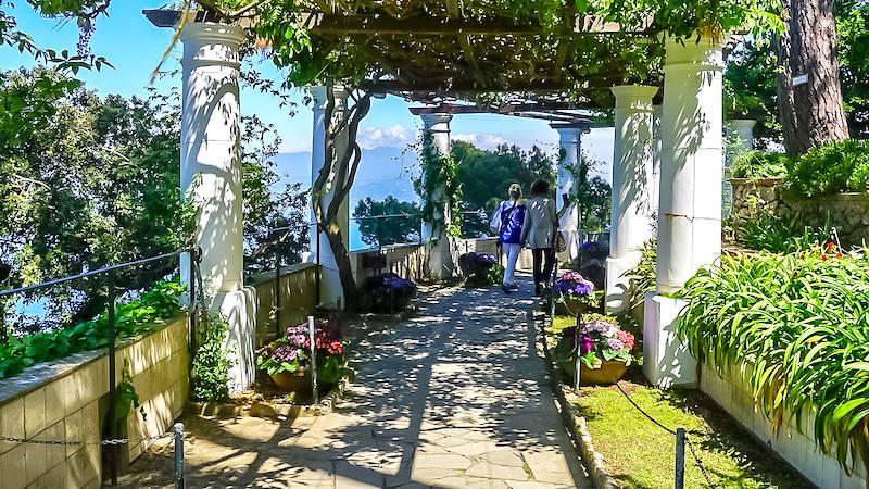 Anacapri Villa San Michele gardens image