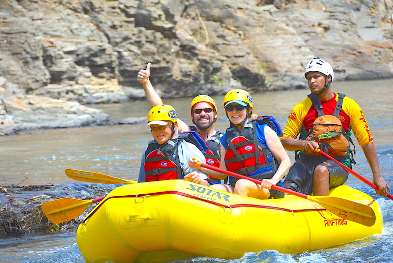 Adventures By Disney white water rafting Costa Rica image