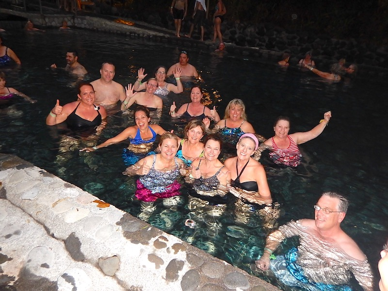 Costa Rica hot springs image
