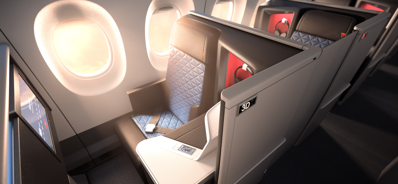 World's First All-Suite Business Class On Delta One