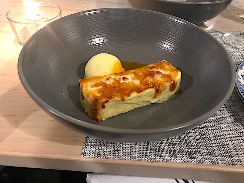 Eloisa Santa Fe caramalized brioche dessert image