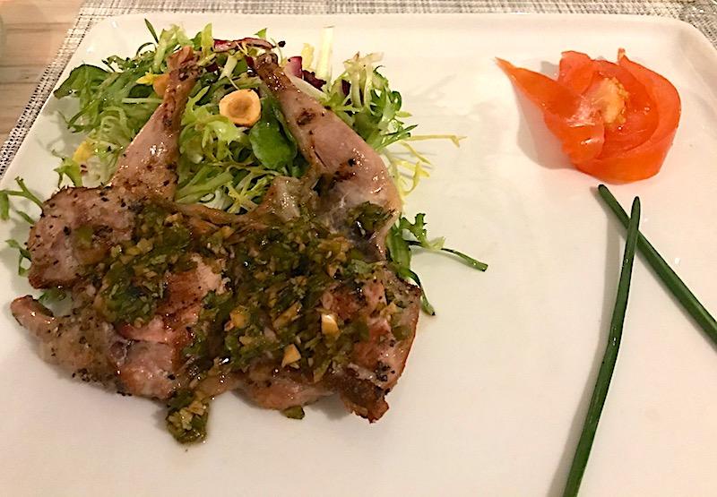 Eloisa Santa Fe quail salad image
