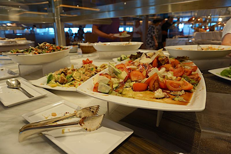 Seabourn Encore The Colonnade buffet image