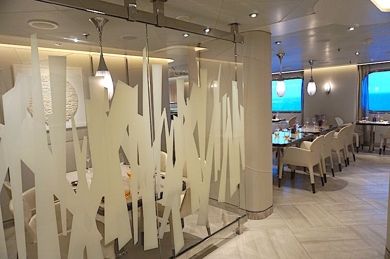 Seabourn Encore Sushi dining room image