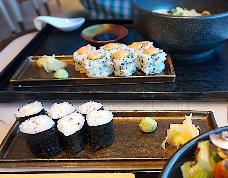 Seabourn Encore Sushi sushi rolls image