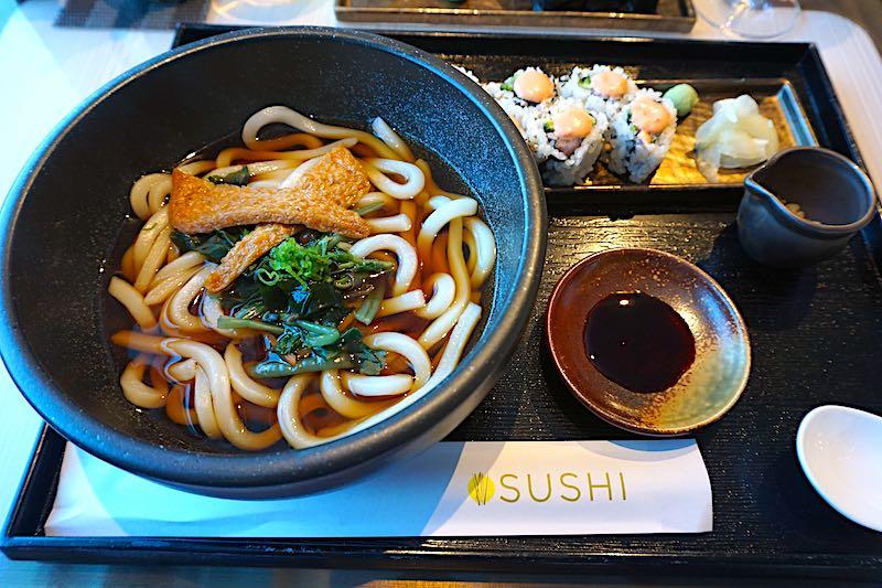 Seabourn Encore Sushi Udon Noodles image