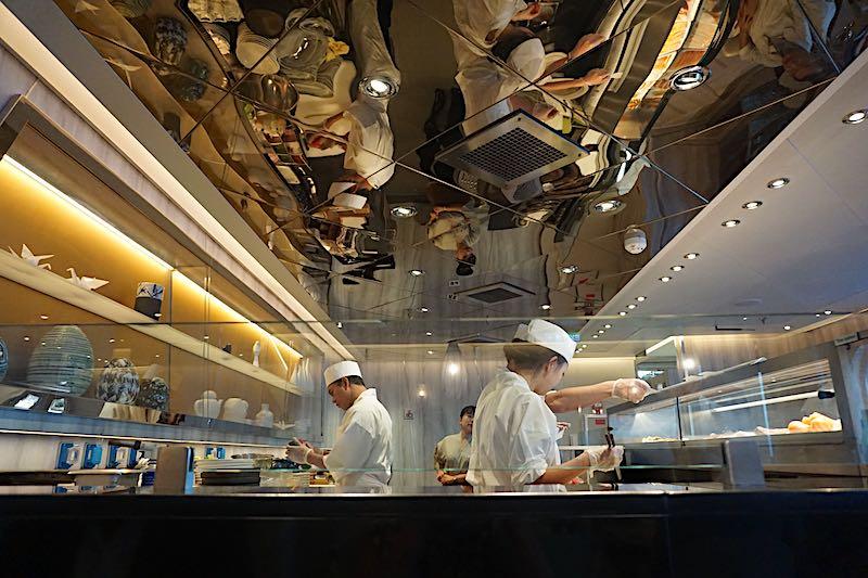 Seabourn Encore Sushi sushi counter image