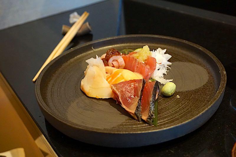 Seabourn Encore Sushi sashimi image