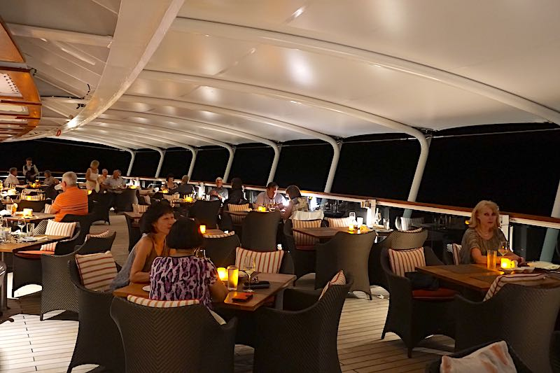 Seabourn Encore The Colonnade terrace dining image