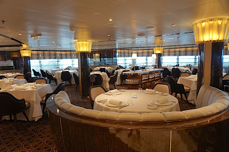 Seabourn Encore The Grill by Thomas Keller dining room image