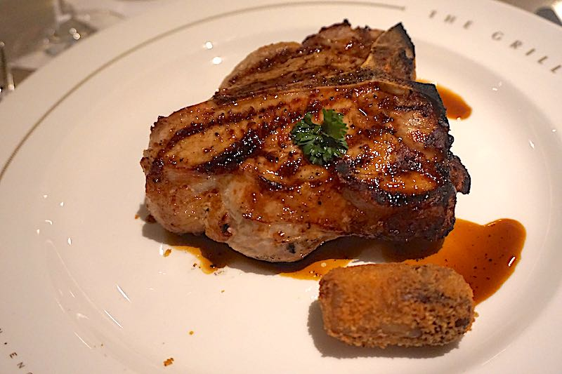 Seabourn Encore The Grill by Thomas Keller veal chop image