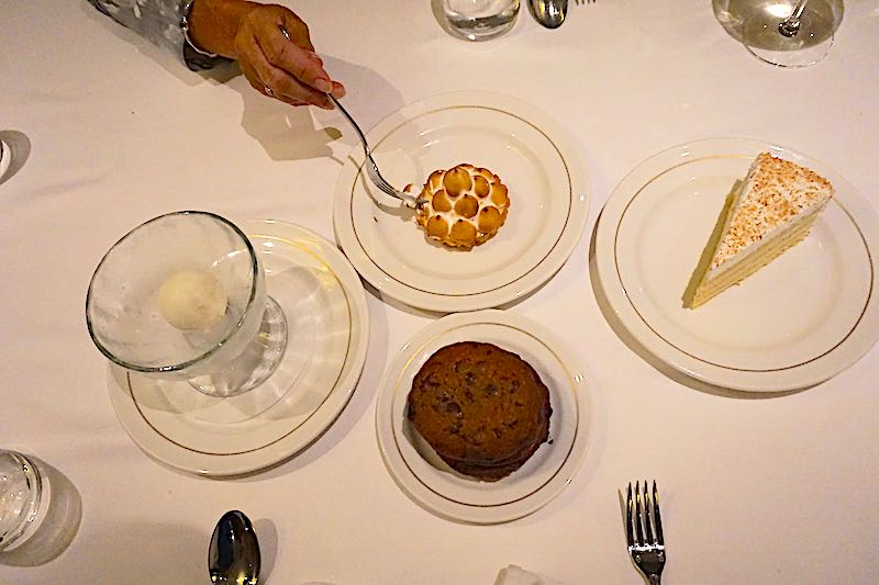 Seabourn Encore The Grill by Thomas Keller desserts image