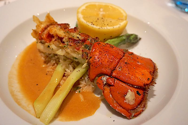 Seabourn Encore The Restaurant broiled maine lobster tail image