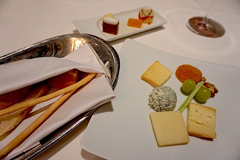 Seabourn Encore The Restaurant cheese board image