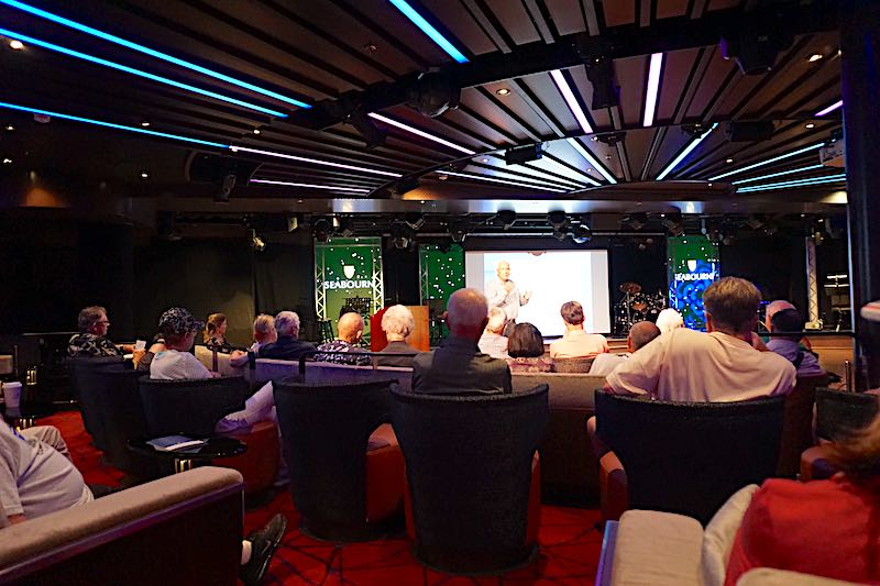 Seabourn Encore lecture series image