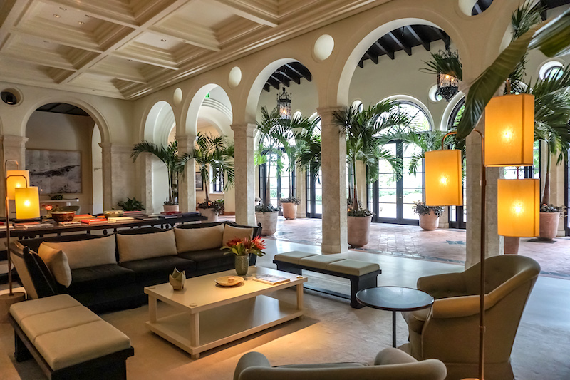 Four Seasons, The Surf Club lobby