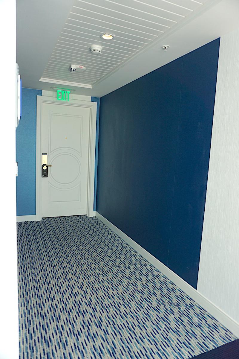 Fairmont Austin Park View Suite interior hallway image