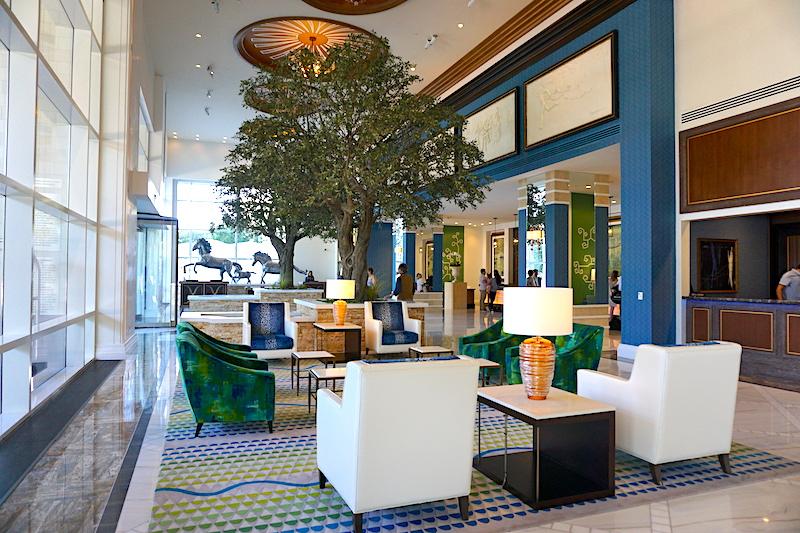 Fairmont Austin lobby image