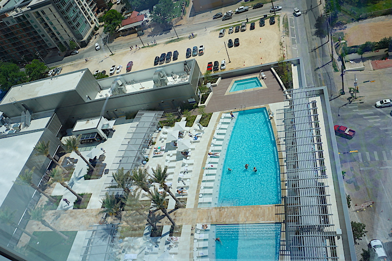 Fairmont Austin pool image