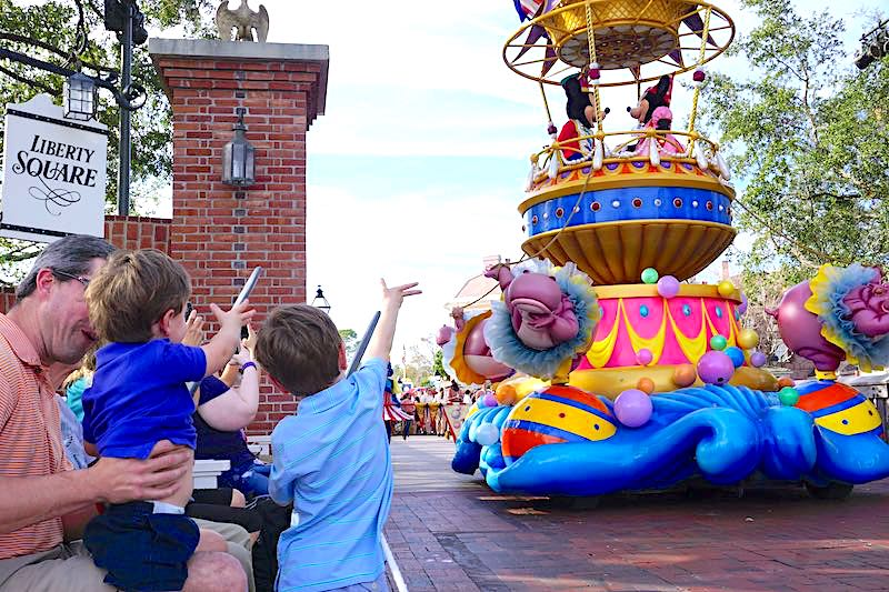 Festival of Fantasy Parade VIP Viewing image
