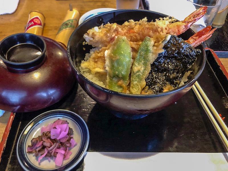 Japanese noodle dish Kyoto image