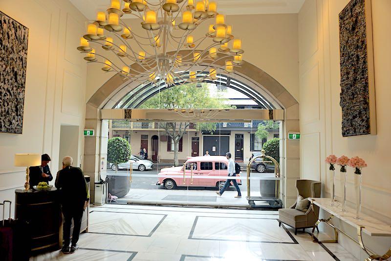 The Langham Sydney entrance image