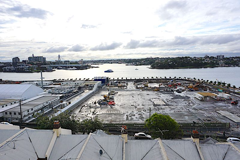 The Langham Sydney harbour view construcation image