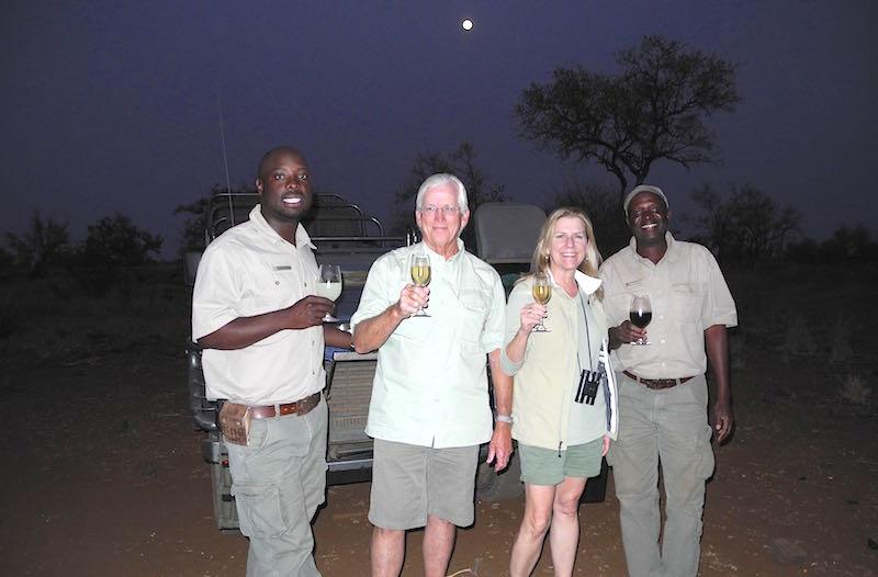 Singita Lebombo sundowners image