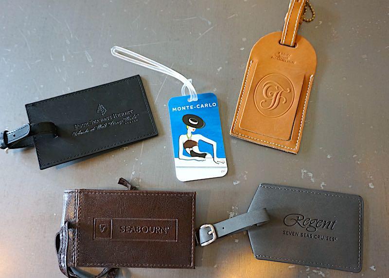 Cara Goldsbury luggage tag image