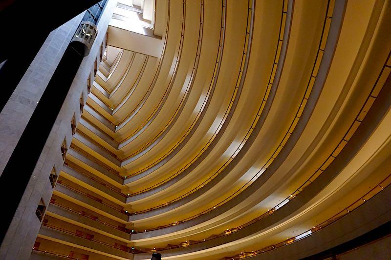 Mandarin Oriental Singapore atrium image