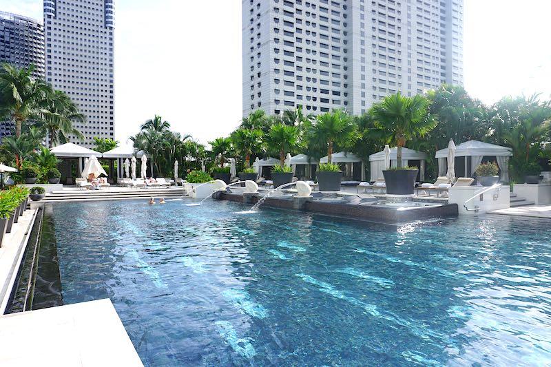 Mandarin Oriental Singapore pool image