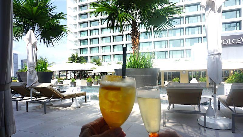 Mandarin Oriental Singapore pool cabana image