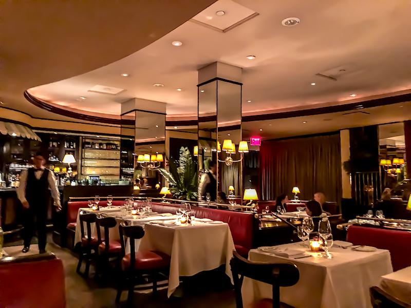 The Monkey Bar New York dining room image