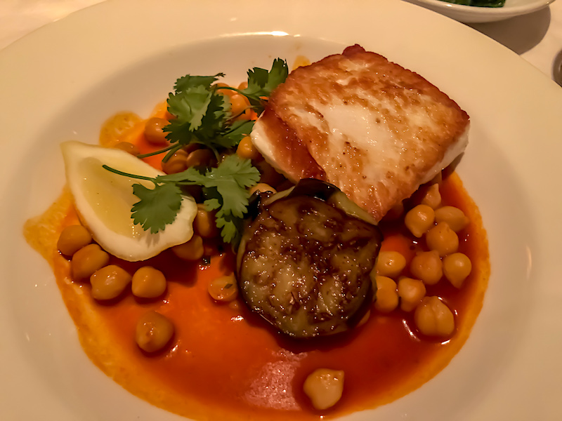 The Monkey Bar New York halibut image